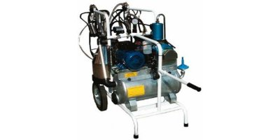 Tecnosac - Model TD 350 - Electric Trolley Milking Machines