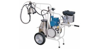 Tecnosac - Model T1 MS - Electric + Petrol Engines Trolley Milking Machines