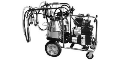 Tecnosac - Model TD Generator - Electric Trolley Milking Machines