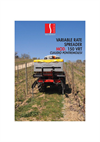 Model 150 VRT - Variable Rate Spreader Brochure