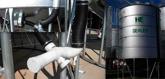 LEFT: Fan forced fumigation system | RIGHT: Thermal fumigation system