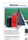 Multicom Fertilizer Mixer - Datasheet