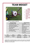 Team Midget - Tractor Mounted Sprayers - Brochure