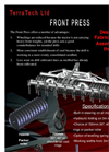 TerraTech - Front Presses Brochure