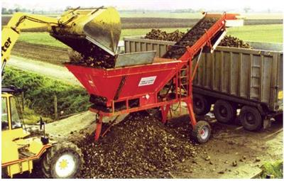 Todd Mark - Model V1 - Sugar Beet Cleaner Loader