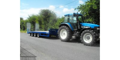 Chieftain - 3 axle Agricultural Low Loader