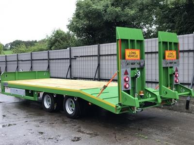 Chieftain - 2 Axle Fast Tow Low Loader