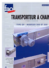 Model TC - Chain Conveyor Brochure