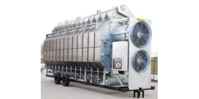 Horizontal Type Grain Dryers