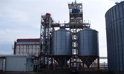 Teco - Portable Stack Grain Dryer
