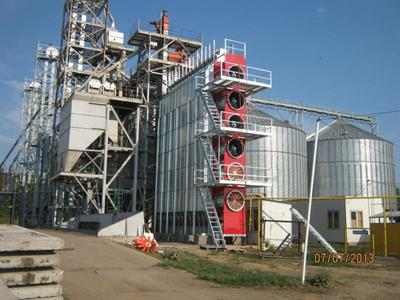 Teco - Portable Single Module Grain Dryer