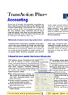 TransAction - Plus - Agricultural Accounting Software Brochure