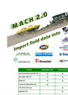 Version MaCH 2.0 - Precision Farming Interface Software Brochure