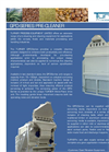 Turner - Model GPD Series - Pre-Cleaners System - Brochure