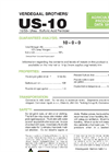 Model US-10 - Urea Sulfuric Acid Fertilizer Brochure