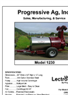Model 1230 - Electrostatic Vineyard Sprayer - Brochure