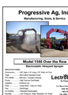 Model 1540 Over the Row - Electrostatic Vineyard Sprayer - Brochure