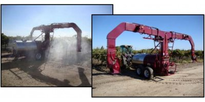 Model 1540 Over the Row - Electrostatic Vineyard Sprayer