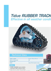 Tidue Rubber Tracks Brochure