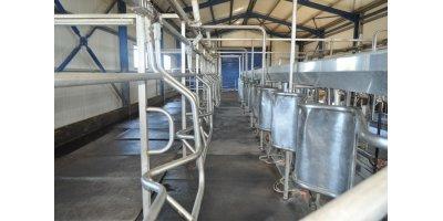 Herringbone - Rapid Exit Milking Parlor