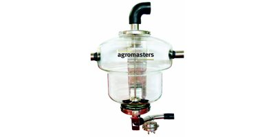 HECTOR - Model 50 L - Glass Milk Receiver