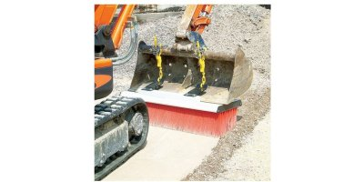 Model BGK-175 Pro - Hitch Broom Bucket Guide Hitch
