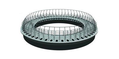 Revolution - Model 1.9m - Concrete Platform Rotary System