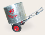 AG - Model MAXI - Battery Operated Wheeled Sawdust Dispenser
