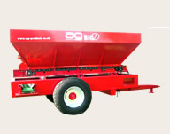 AG - Model BIG D - Hydraulically Operated Trailed Dispenser