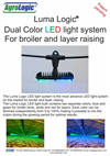 Dual Color LED Light System for Layer Raising- Brochure