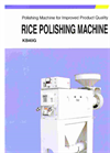 Rice Polishing Machine Brochure