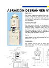 VTA10 Abrasion Machine Brochure
