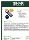 AgriPro - 6095 - Moisture Analyser  Brochure