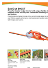 EasiCut Electric Hedge Trimmer 600XT Product Sheet