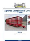 Agrimac Demountable Livestock Trailer - Datasheet
