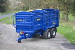 Agrimac - Model 16 - Tonne Grain Trailer With Fixed Greedy Boards