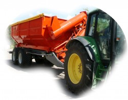 Model GPP23 - Grain Handling Trailer (17 t.)