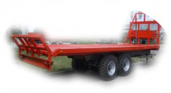 Model SPS12 - (12 t.) Bale Transport Trailer