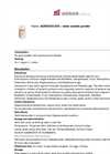 AGRADOX - Water Soluble Powder Brochure