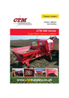 CTM - 500 Series - Compact Trailed Cleaner Loaders - Brochure
