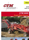 CTM - Model 9000 Series - High Throughput Cleaner Loaders  Brochure