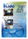 Kidd - Model 814, 806 and 807 - Bale Choppers Technical Specifications Brochure