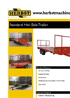Mini Bale Trailer- Brochure