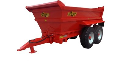 Herbst - Model 8 / 10 / 12 - Tonne Dump Trailer