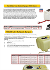 100-200 Litre - Multipack Sprayer Datasheet