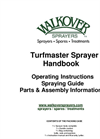 Turfmaster - Model AZT02 - Walkover Sprayer Brochure