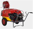 PALM - Model 200 - Wheelbarrow type sprayer with pulley driven system