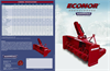 Model E48-200, E54-220, E60-220, E66-220 - Snowblowers Brochure
