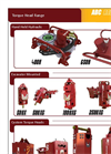 Model 400H - Screw Pile Torque Heads Cable Drum Handler Brochure