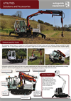 Model 40,000 PXV - Variable Speed Crane Mounted Powerhead Crane Mounted Auger Drives- Brochure